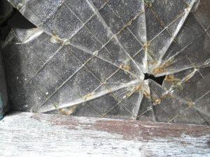 網目ガラス