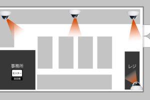東京都町田市の事務所に防犯カメラ4台の設置ご依頼をいただきました。